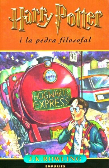 Harry Potter in Catalan All 8 Volumes or Harry Potter i la pedra filosofal
