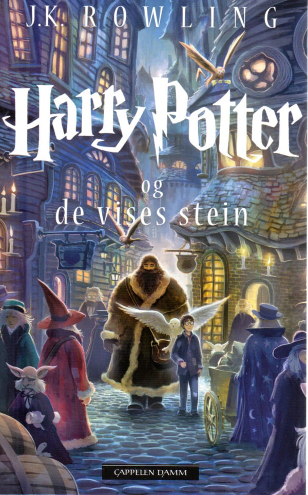 Harry Potter and the Sorcerer's Stone in Norwegian - Book One - Harry Potter og De vises stein