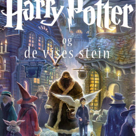 Norwegian Harry Potter Hardcover Set of Seven Books