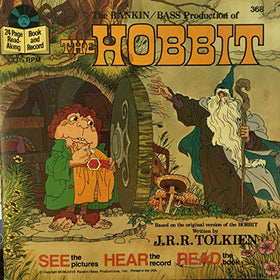 The Hobbit See, Hear, Read 24 page Read-Along Book and Record