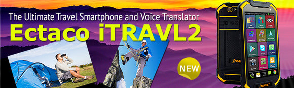 ECTACO iTRAVL 2 Portable Translator Military Strength