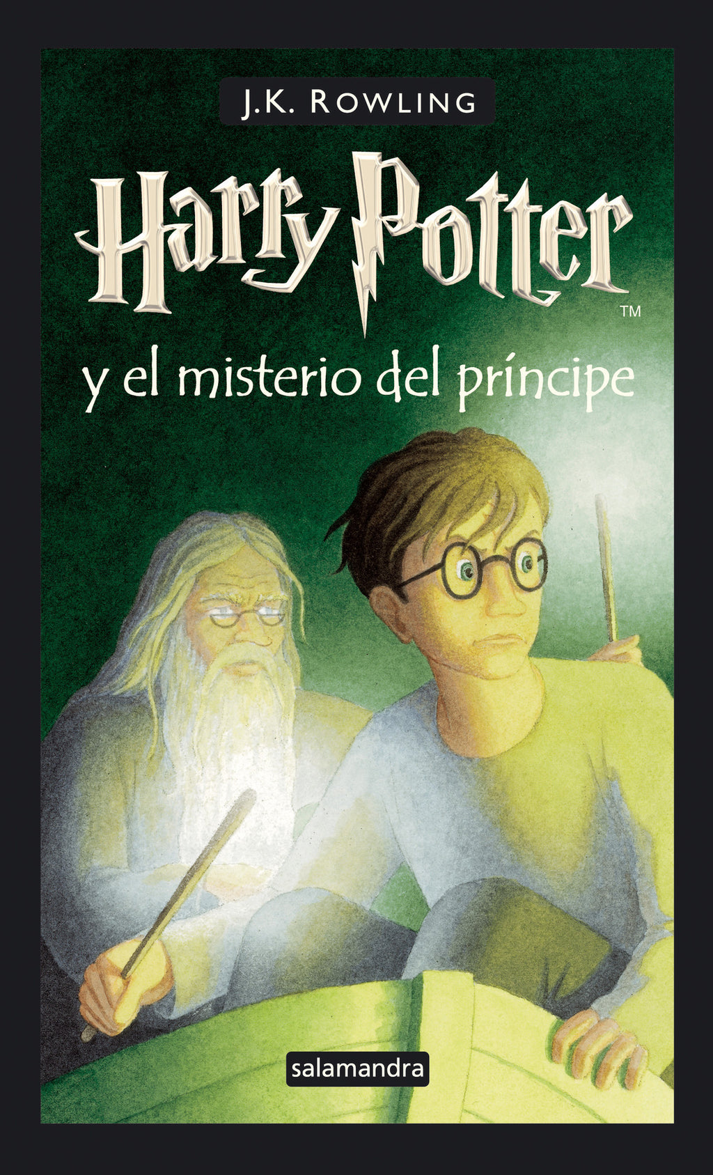 Harry Potter y el misterio del principe (Harry 06) Harry Potter and the Half-Blood Prince Spanish Edition)