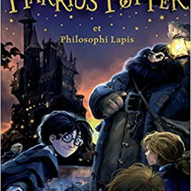 Harry Potter and the Sorcerer Stone Latin Harrius Potter et Philosophi Lapis