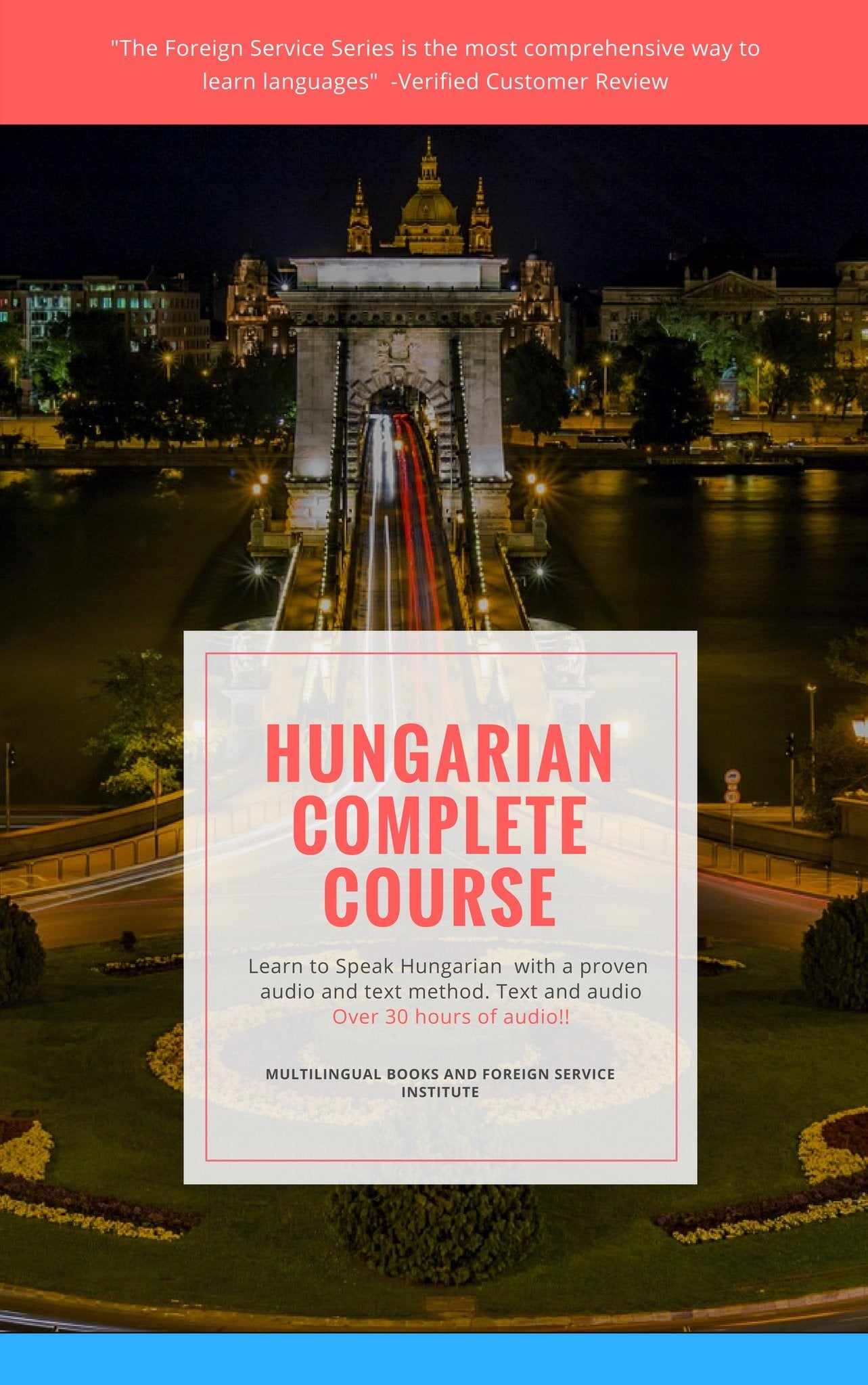 Hungarian In a Flash Foreign Service Course on USB