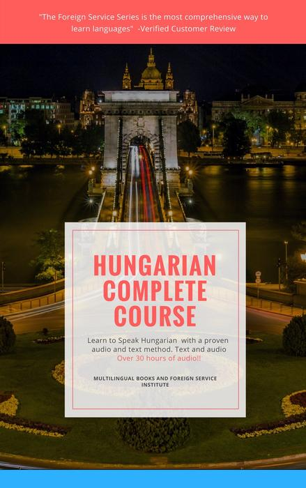 Learn Hungarian Complete Foreign Service Book and CD course