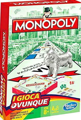 Italian Monopoly Travel Edition