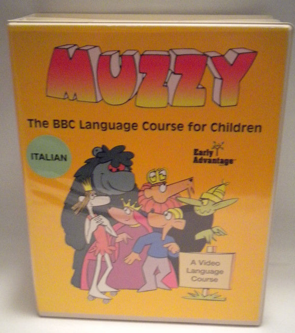 Muzzy Italian  DVD Courses Like New