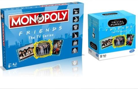 Friends TV Show Monopoly and Trivial Pursuit Board Game Bundle