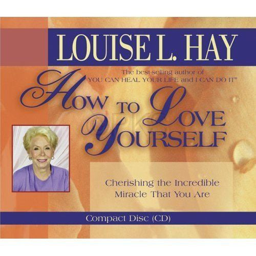 How to Love Yourself - Louise Hay - New- Audio CD