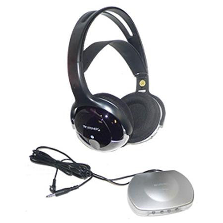 Unisar TV Listener J3 Infrared Wireless Headphones