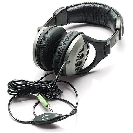 Inland Dynamic Stereo Headphones with Volume Control