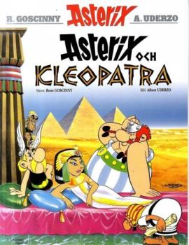 Cleopatra Asterix  Swedish Hardcover Book