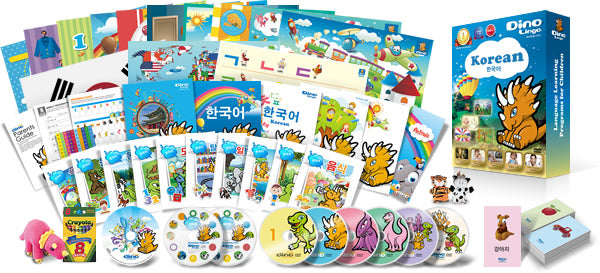 Dino Lingo Korean DVD Course for Children