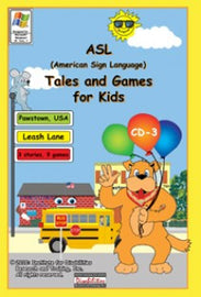 ASL Tales and Games for Kids, CD-3: Leash Lane