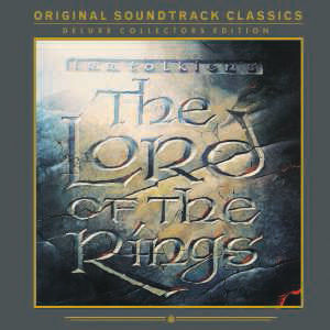Lord of the Ring Soundtrack 2LP 180 gram Edition New