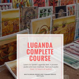 Foreign Service Method Luganda Basic Course Book and Audio Cd or Flash Drive