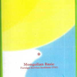 Learn Mongolian Basic Course Book with Glossary and Cd's