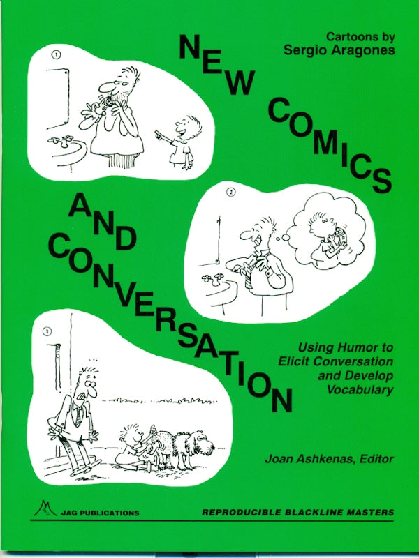 New Comics and Conversation. Use Humor to Elicit Conversation and Develop Vocabulary