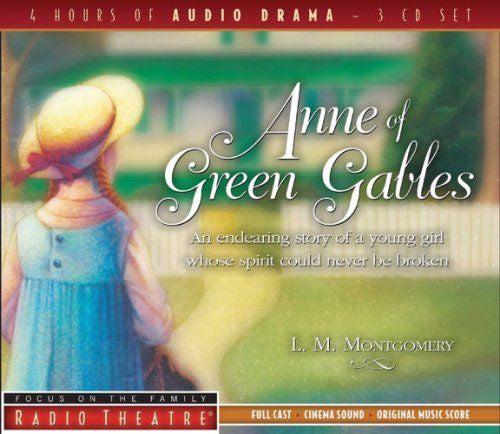 Anne of Green Gables (Radio Theatre) by Paul McCusker Audiobook - New - CD
