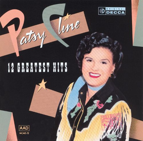 Patsy Cline 12 Greatest Hits Vintage Vinyl Record Used Excellent