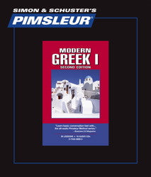 Learn Greek Pimsleur Levels 1 and 2 Used