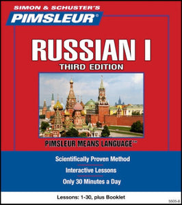 Russian Pimsleur Used levels 1,2,3,4,