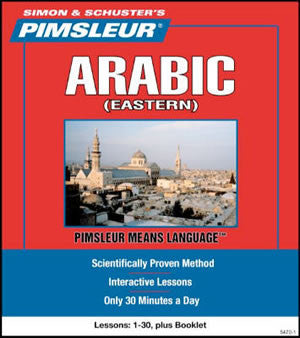 Arabic (Eastern) Pimsleur Level 1 Used