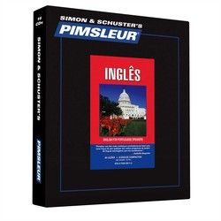Pimsleur English for Portuguese (Brazilian) Speakers Level 1 Audio CD
