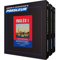 Pimsleur English as A Second Language for Spanish Speakers Levels one to three