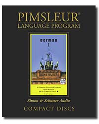 German Pimsleur Used