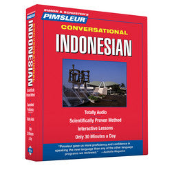Pimsleur Indonesian Conversational Course