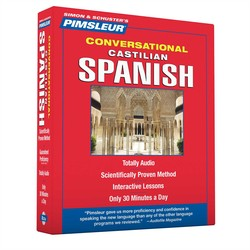 Spanish (Castilian) Pimsleur Basic CD Course