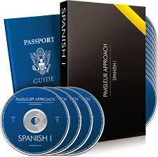 PIMSLEUR SPANISH 1 - 16 Audio CD'S Like New Condition -Gold Edition