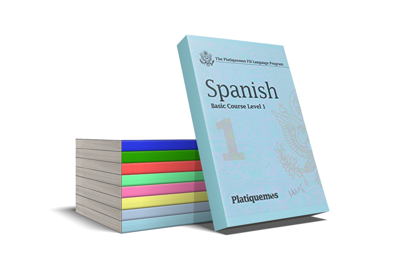 Learn Spanish with Pimsleur and Platiquemos Bundle