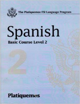 Platiquemos Level 2 Book and 8 Cd's