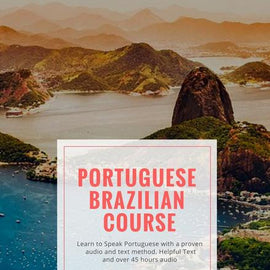 Brazilian Portuguese FSI Books with USB flash drive
