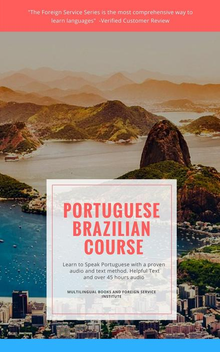 Learn Brazilian Portuguese Book and USB Flash Drive Set
