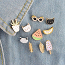 10pcs/set Denim Jacket Pins