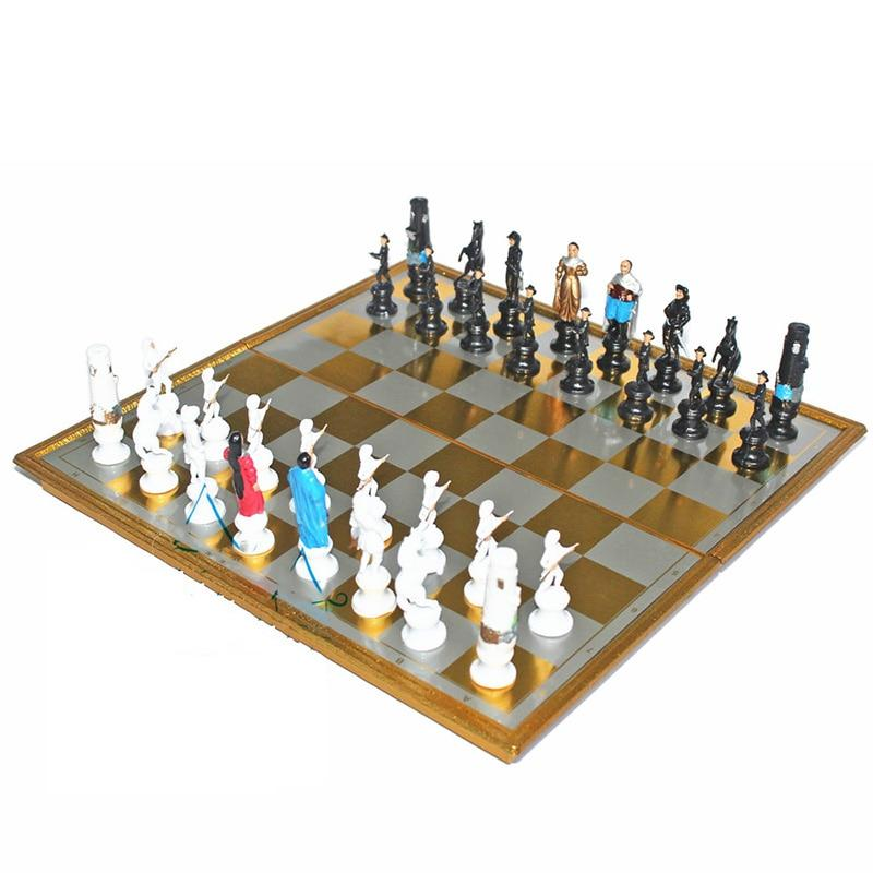 Medieval Plastic Chess Set Complete