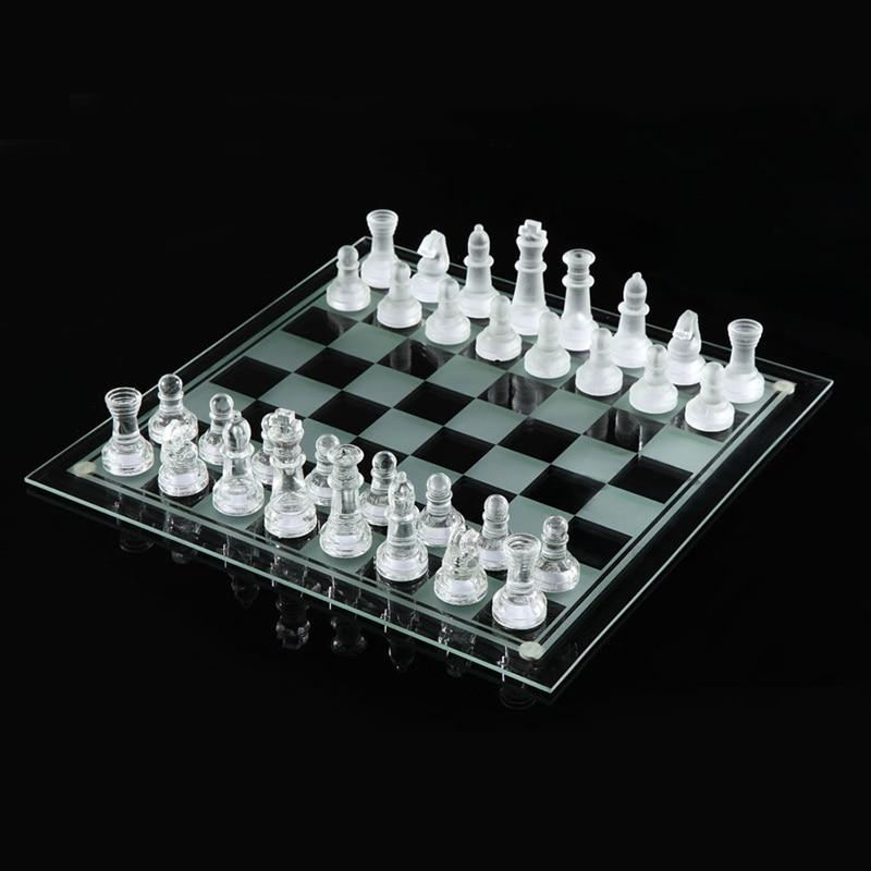 Glass chess Chess Game International Chess Set