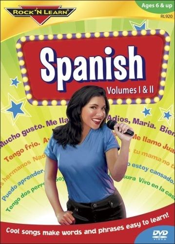 Rock 'N Learn: Spanish, Vols. 1 & 2 DVD Free Shipping