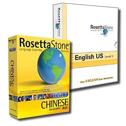 Rosetta Stone CD-ROM Language Courses (Personal Edition) Now with Version 3