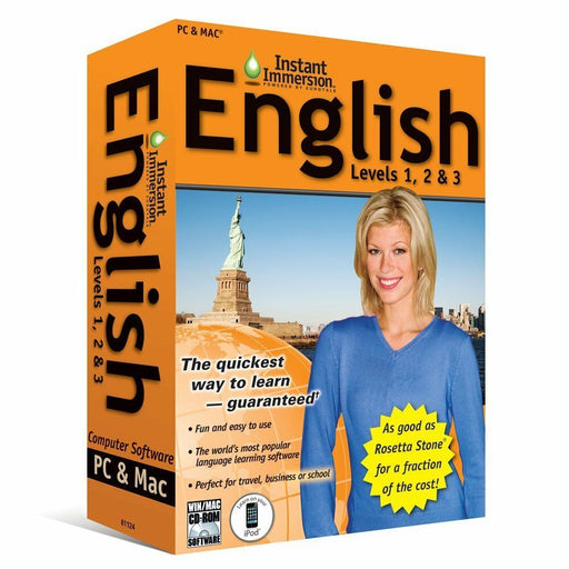 Instant Immersion English Language Software Levels 1, 2, 3