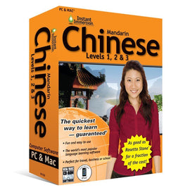 Instant Immersion Chinese Mandarin Language Software Levels 1, 2, 3