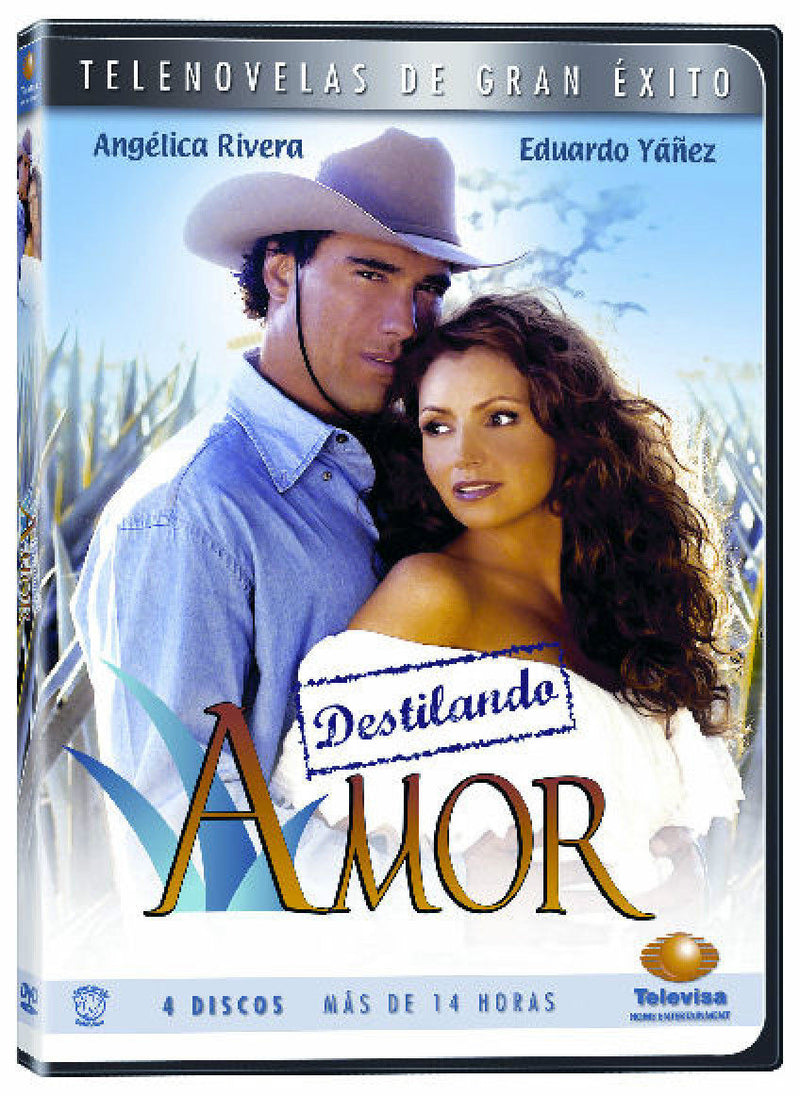 DESTILANDO AMOR * Novela * New Sealed 4-DVD Boxset * Spanish Telenovela 2007 - Teacher In Spanish