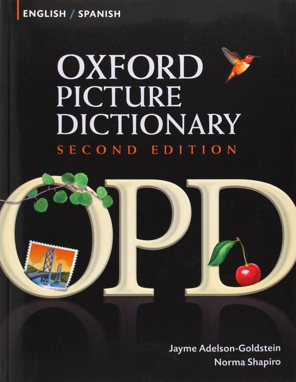 Oxford Picture Dictionary English-Spanish: Biling by Jayme Adelson (Paperback) - Teacher In Spanish