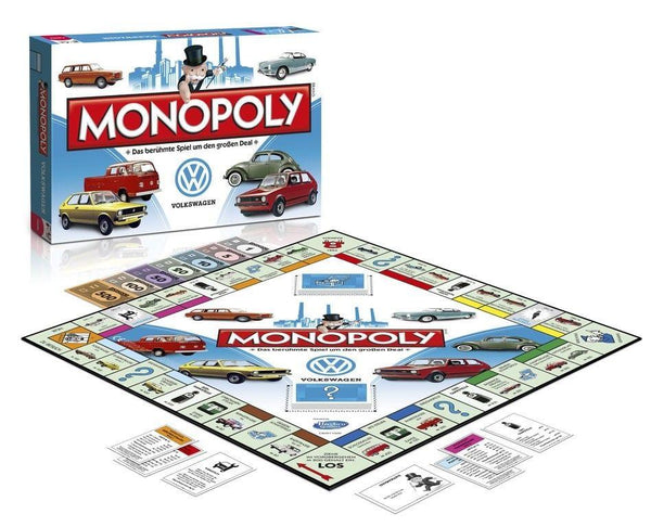 Volkswagen Monopoly Board Game in German