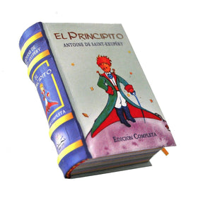 The Little Prince in Spanish El Principito Miniature Book hardbound color pages - Teacher In Spanish