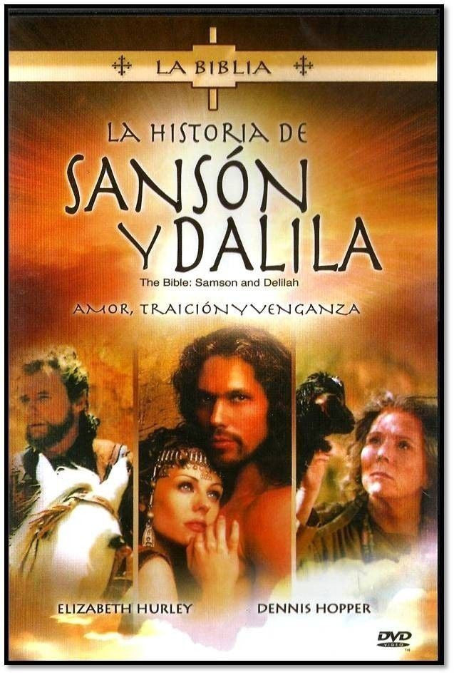 LA HISTORIA DE SANSON Y DALILA NEW DVD FULLSCREEN SPANISH ONLY - Teacher In Spanish