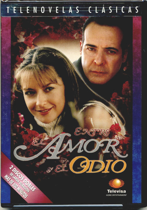 ENTRE EL AMOR Y ODIO (2002) * DVD Telenovela NEW FACTORY SEALED *Televisa Novela - Teacher In Spanish